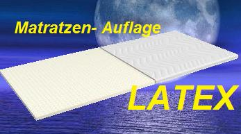 "LATEX Matratzen-Auflage  ""Topper"""